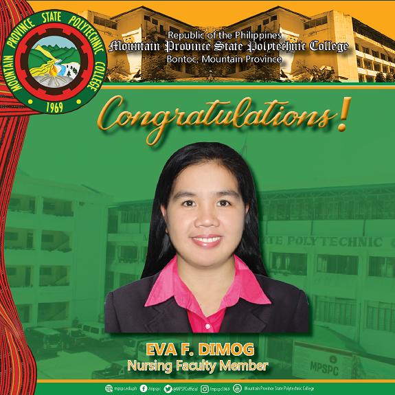Nursing faculty member awarded with international scholarship